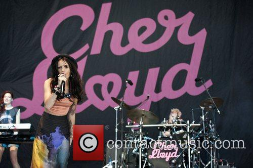 Cher Lloyd and V Festival 4