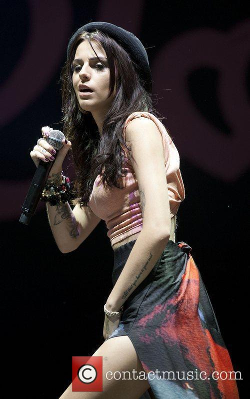 Cher Lloyd and V Festival 1