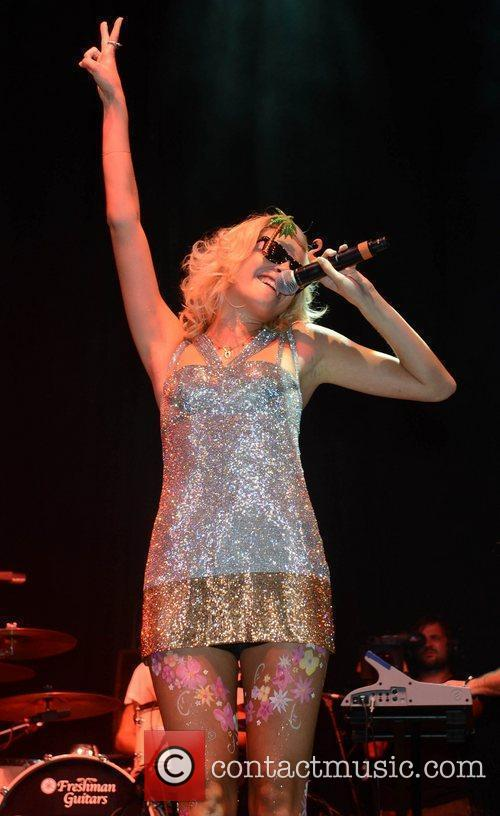 Pixie Lott and V Festival 9