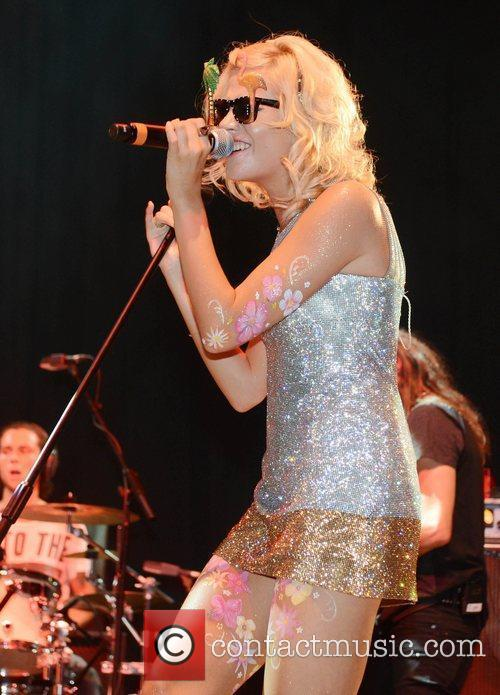 Pixie Lott and V Festival 11
