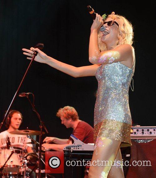 Pixie Lott and V Festival 12