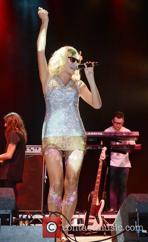 Pixie Lott and V Festival 13
