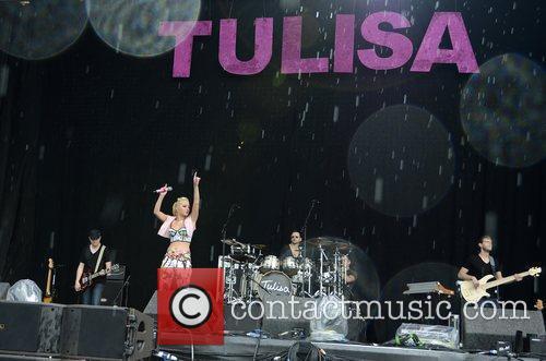 Tulisa Contostavlos and V Festival 6