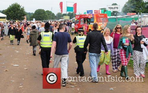 At the V Festival 2012 at Weston Park....