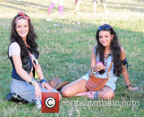 Michelle Keegan and V Festival 2