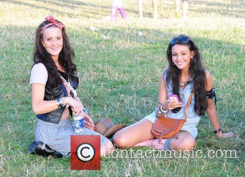 Michelle Keegan and V Festival 1
