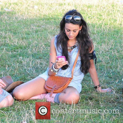 Michelle Keegan and V Festival 4