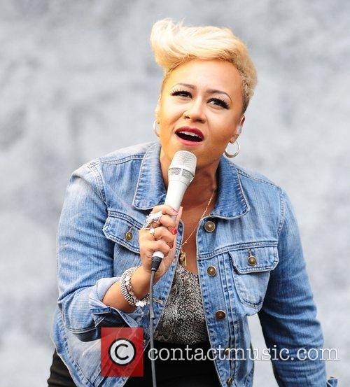 Emeli Sande V Festival 2012 held at Weston...