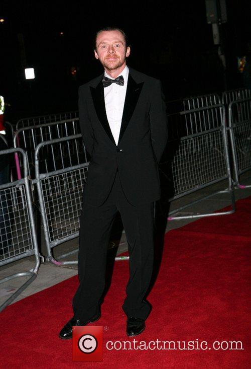 Simon Pegg The V&A's Hollywood Costume Exhibition Dinner...