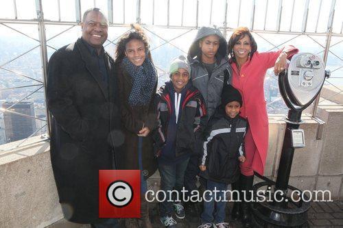 Holly Robinson Peete, Rodney Peete, and their Children...