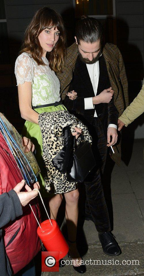 Alexa Chung, Jack Guinness and Somerset House 3