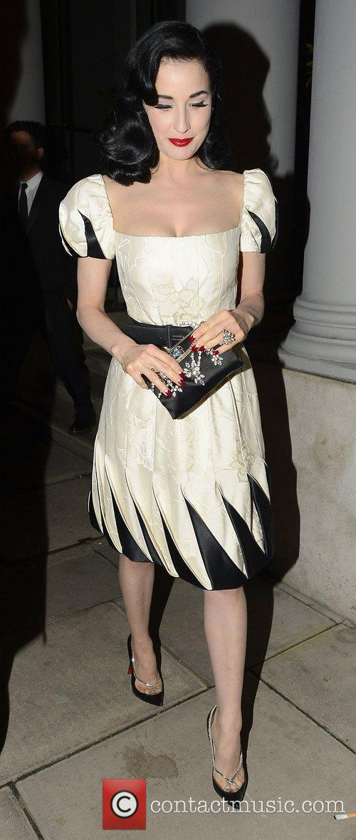 Dita Von Teese and Somerset House 3