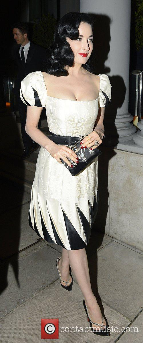 Dita Von Teese and Somerset House 5
