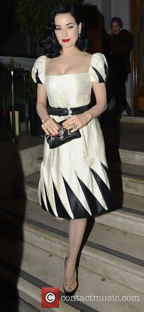 Dita Von Teese and Somerset House 2