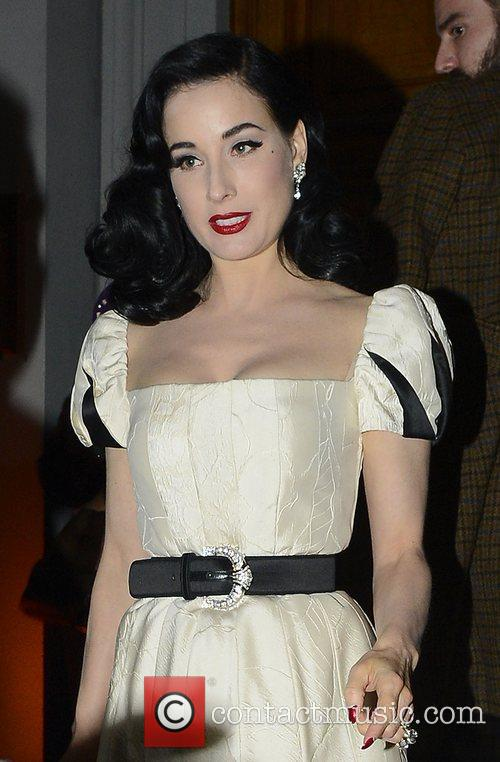 Dita Von Teese and Somerset House 4