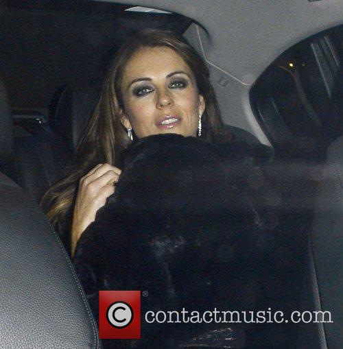 Elizabeth Hurley and Somerset House 9
