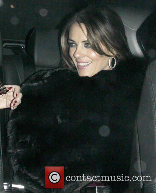 Elizabeth Hurley and Somerset House 5