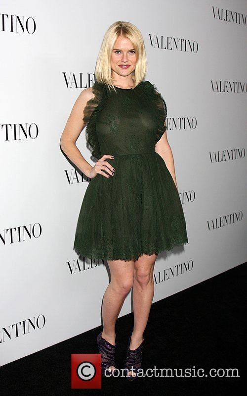 Alice Eve The Valentino Rodeo Drive Flagship store...