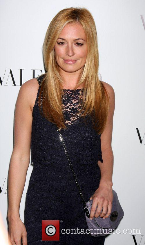 Cat Deeley The Valentino Rodeo Drive Flagship store...
