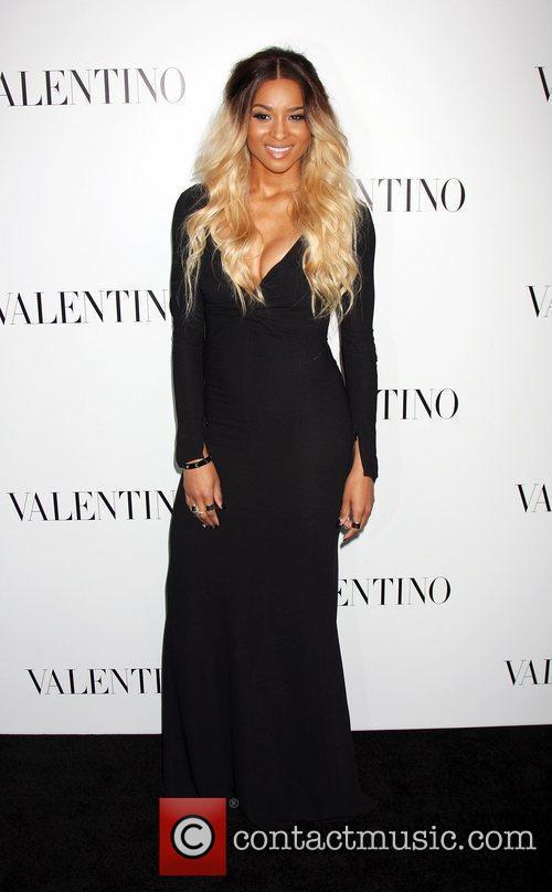 Ciara  The Valentino Rodeo Drive Flagship store...