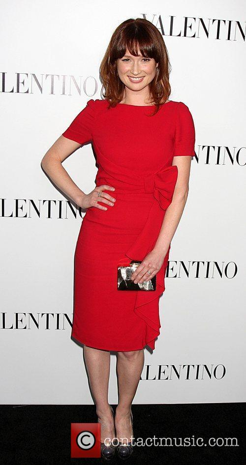 Ellie Kemper  The Valentino Rodeo Drive Flagship...