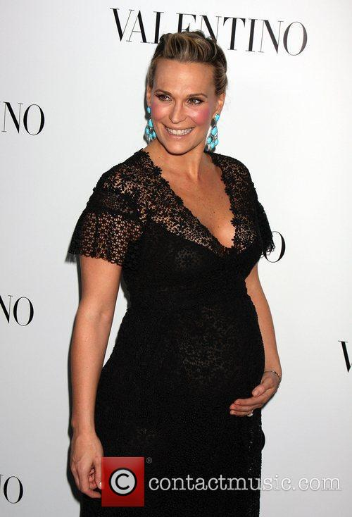Molly Sims  The Valentino Rodeo Drive Flagship...