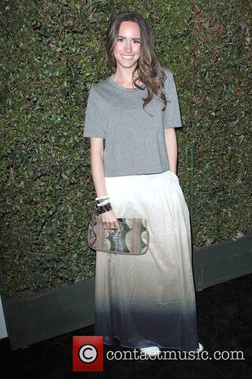 Louise Roe The Valentino Rodeo Drive Flagship store...