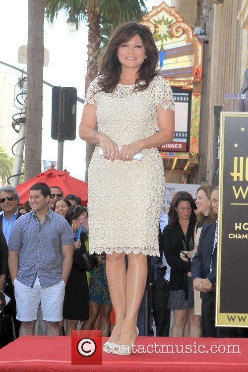 Valerie Bertinelli and Star On The Hollywood Walk Of Fame 4