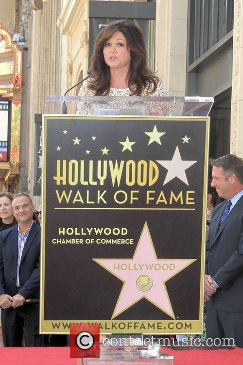 Valerie Bertinelli and Star On The Hollywood Walk Of Fame 7