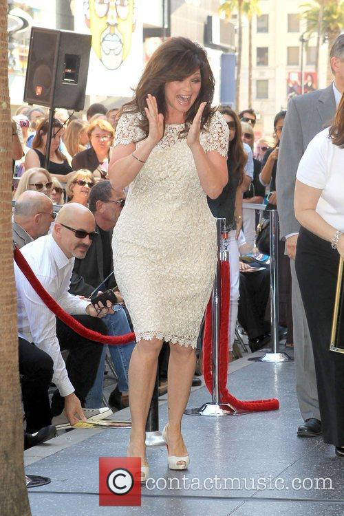 Valerie Bertinelli and Star On The Hollywood Walk Of Fame 8