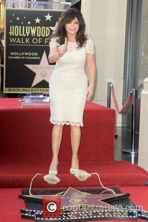 Valerie Bertinelli and Star On The Hollywood Walk Of Fame 9