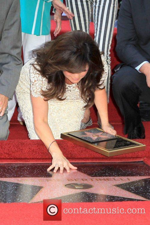 Valerie Bertinelli and Star On The Hollywood Walk Of Fame 10