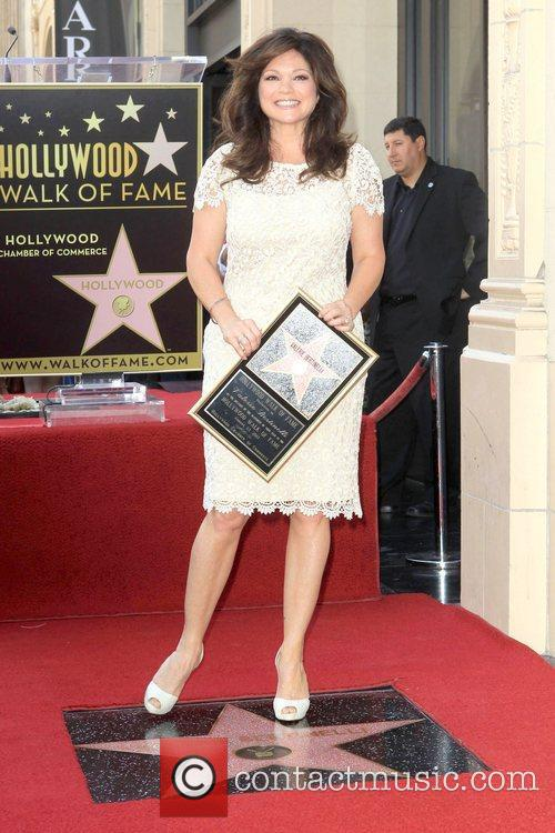 Valerie Bertinelli and Star On The Hollywood Walk Of Fame 12