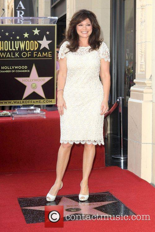 Valerie Bertinelli and Star On The Hollywood Walk Of Fame 13