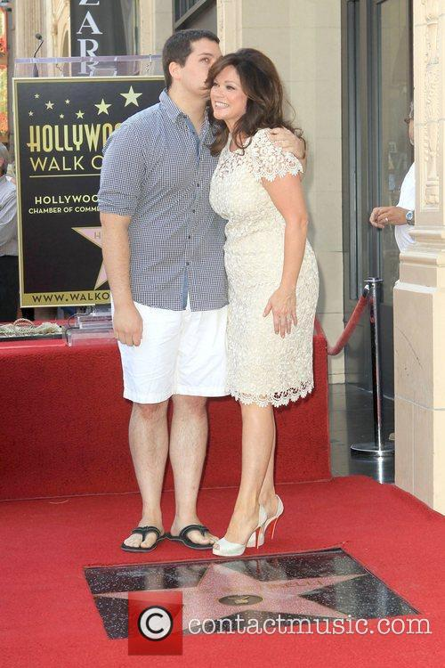 Van Halen, Valerie Bertinelli and Star On The Hollywood Walk Of Fame 2