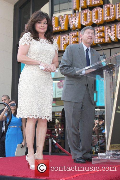 Valerie Bertinelli and Star On The Hollywood Walk Of Fame 2