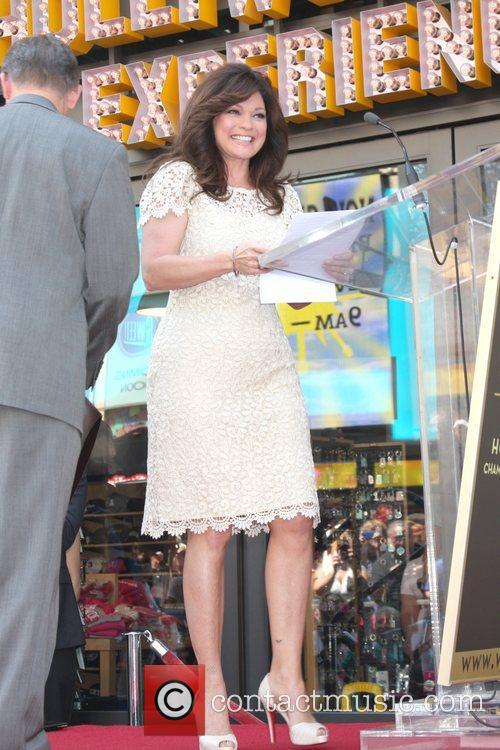 Valerie Bertinelli and Star On The Hollywood Walk Of Fame 22