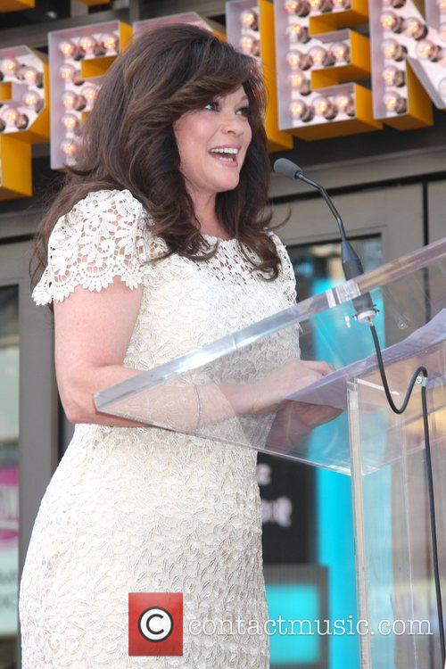 Valerie Bertinelli and Star On The Hollywood Walk Of Fame 25