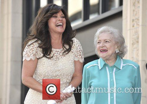 Valerie Bertinelli, Betty White and Star On The Hollywood Walk Of Fame 11