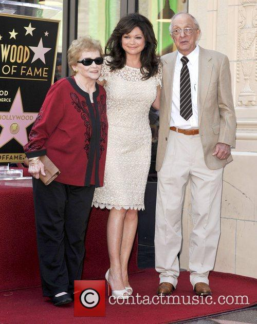 Valerie Bertinelli and Star On The Hollywood Walk Of Fame 1