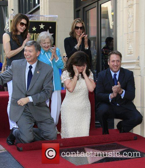 Valerie Bertinelli, Betty White, Jane Leeves, Wendy Malick and Star On The Hollywood Walk Of Fame 9