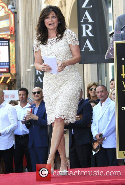 Valerie Bertinelli and Star On The Hollywood Walk Of Fame 3