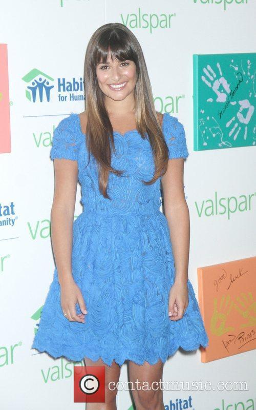 Attends the Valspar Hands For Habitat Unveiling Hosted...