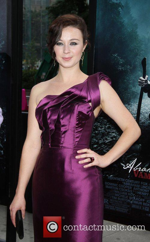 Robin McLeavy,  at the premiere of Abraham...