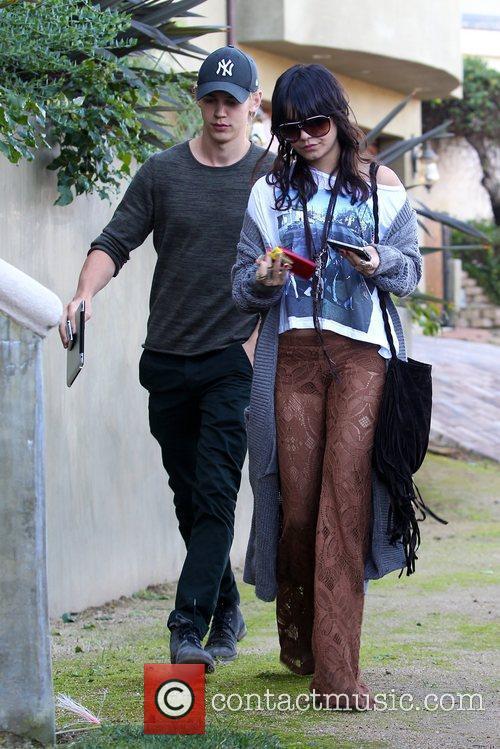 Vanessa Hudgens, Austin Butler Vanessa Hudgens, her boyfriend...