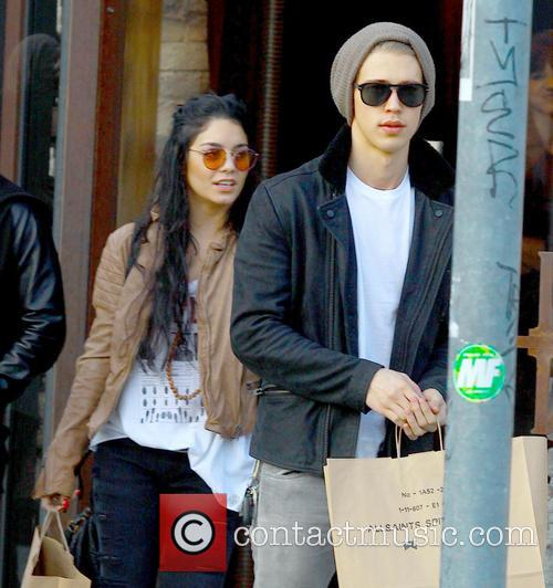 Actress/ Model Vanessa Hudgens and Austin Butler out...
