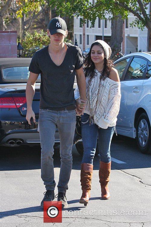 Vanessa Hudgens and her boyfriend Austin Butler have...