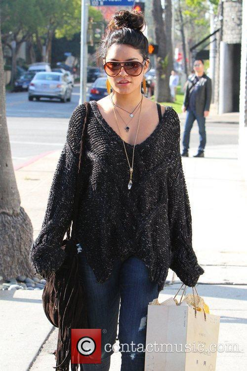 Vanessa Hudgens out shopping in Beverly Hills Los...