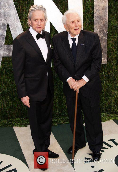 Michael Douglas and Kirk Douglas 6