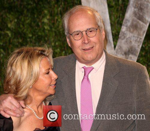 Chevy Chase 2012 Vanity Fair Oscar Party at...